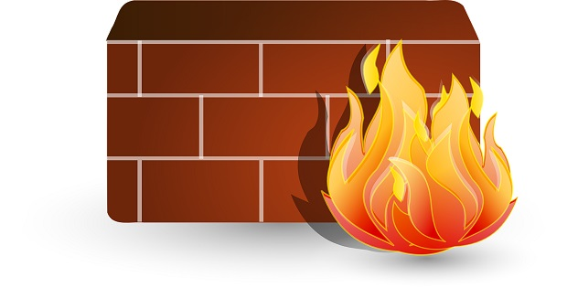 Firewall cyber security solution monitors network traffic